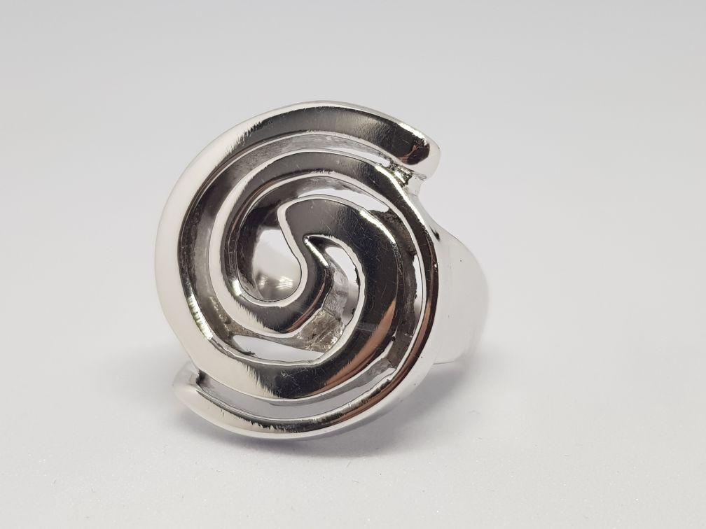 Inel Silver Swirls