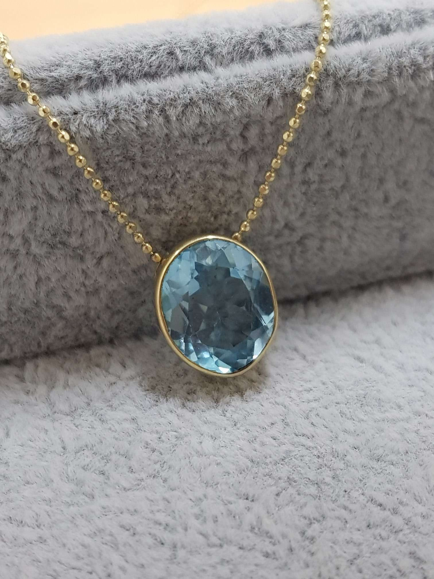 Colier Soft blue