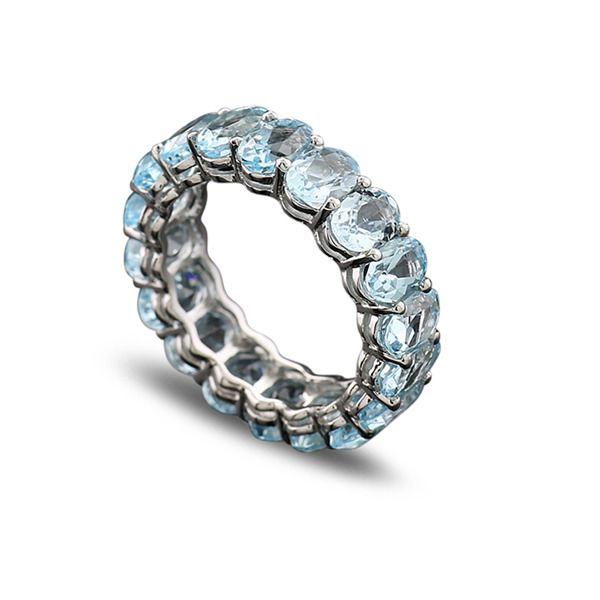 Inel Blue Eternity